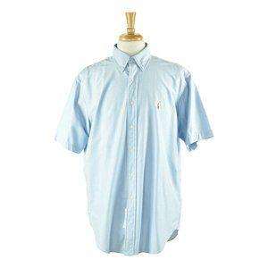 Ralph Lauren Button Down Shirt LG Blue